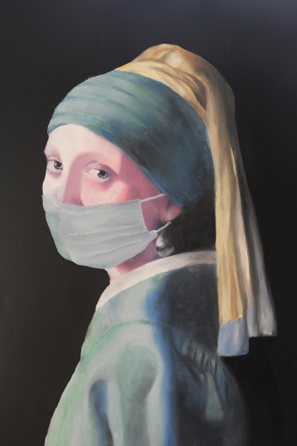 'Girl in Scrubs' by Evelyn Brough